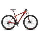Bicicleta Scott Modelo Scale 970 Neon Red Aro 29 Tamanho M