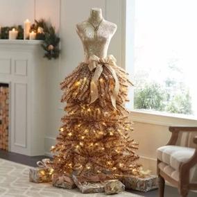 Árvore De Natal Manequim Dourada 1,52 M Altura- Members Mark