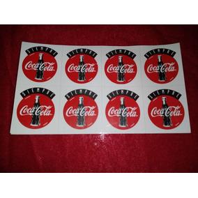 Lote 10 Plantillas Calcomanías Coca Cola