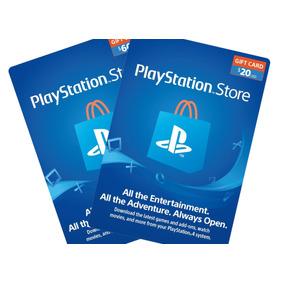 Psn $10 $20 $50 $60 Playstation Network Ps3 / Ps4 / Ps Vita