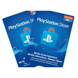 Psn $10 $20 $50 $60 Playstation Network Ps3 / Ps4 / Ps Vita