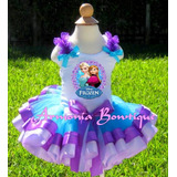 Conjuntos Tutu Vestidos Para Niñas Frozen Sofia Minnie