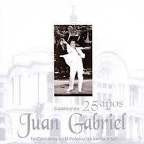 Juan Gabriel Celebrando 25 Años Palacio De Bellas Artes 2cds