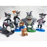 Muñecos X9 De Pvc De Tom Y Jerry Delicias3
