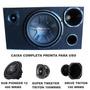 Alto Falante Pioneer 12 400rms + Caixa Trio Completa 100%mdf