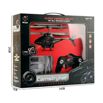 Helicóptero Radio3.5ch Gyro C/ Câmera Drome Promoção