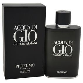 Perfume Giorgio Armani Acqua Di Gio Black Negro 125ml Oferta