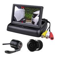 Tela Monitor Veicular 4.3 Vídeo Lcd+ Camera Ré*