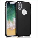 Capinha Case Silicone Iphone X Tela 5,8 Pol. 15 Und