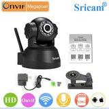 Camara De Vigilancia Sricam Hd Wifi Ip Inalambrica Interior