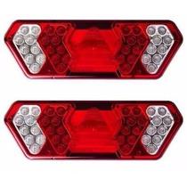 Lanterna Traseira Caminhão Carreta Guerra Led 12vts (par)