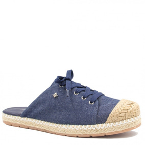 Mule Feminino Cravo E Canela Jeans 152104