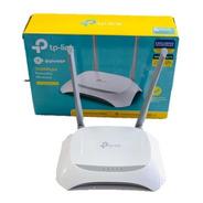 Roteador Wifi  Tp-link Tl-wr840n Velocidade De 300mbps