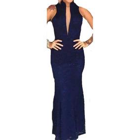 Vestido Para Madrinha Modelo Sereia Todas As Cores Decote