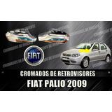 Coberto Cromado De Retrovisores Fiat Palio Y Siena