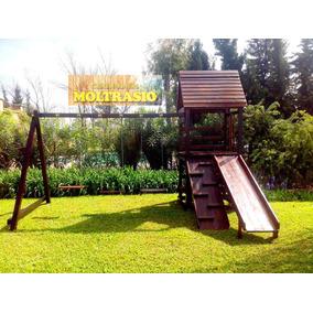 Mangrullo Tobogan Tunel Juego Para Jardin Aire Libre - Juegos de ...