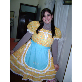 Vestido De Festa Junina Adulto Luxo