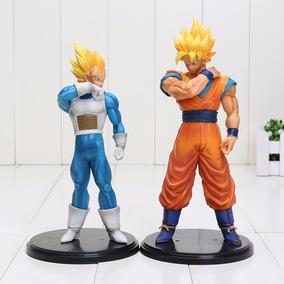 Kit Goku E Vegeta 18-20 Cm (pronta Entrega) Dragon Ball Z Gt