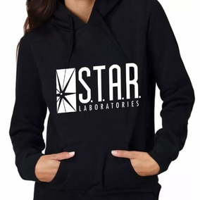 Sudadera Serie Flash Star Laboratories Hombre Mujer Hoodie