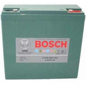 Bateria Bosch 24ah 12v Ciclo Profundo Bicicleta Moto 6-dzm