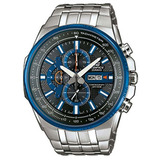 Reloj Casio Edifice Efr-549d-1a2v Cronometro Envio Gratis!!!