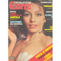 Fatos E Fotos 1979 - Katia Angelo* Chacrinha* Chacretes. Gil