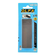 Lâmina 9mm Profissional Olfa Abb-10b Ultra Afiada Black