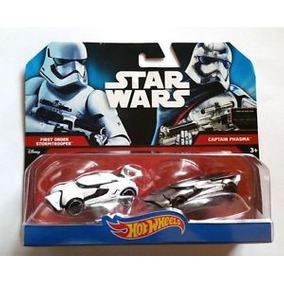Star Wars Carros Hot Wheels X 2 Stormtrooper-phasma