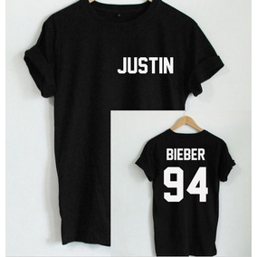 Playera O Camiseta Moda Nueva Justin Bieber 94 100% Algodon