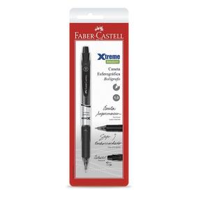 Caneta Esferográfica Xtreme Rt 1.0 Faber Castell Preta