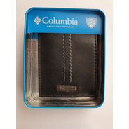 Billetera De Hombre Columbia Original Ns Black