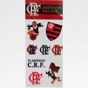 Cartela De Adesivos Faciais Flamengo