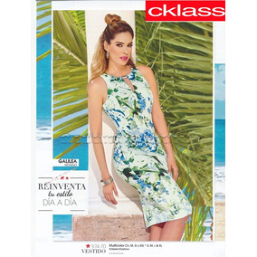 Outlet/saldos Mchn..vestido Multicolor Cklass 974-70