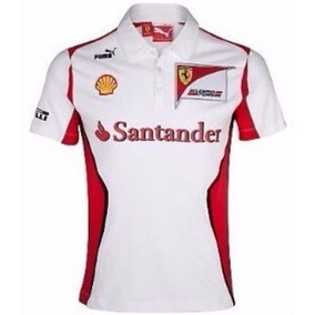 Camisa Polo Santander Formula1 Ferrari Oferta Camiseta