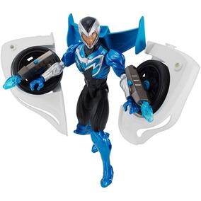 Boneco Max Steel Mattel Veículo Transformador