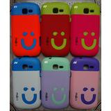 Capa Case Emborrachada Galaxy Trend 2 Ii Duos Gt-s7572 Mobic