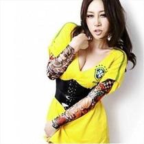 Oferta Lote De 4 Par De Mangas Surtida Tatuajes Tattos