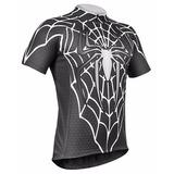 Camiseta De Ciclismo Refactor Aranha Masculina