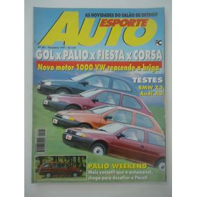 Auto Esporte #381 Ano 1997 Gol X Palio X Fiesta X Corsa