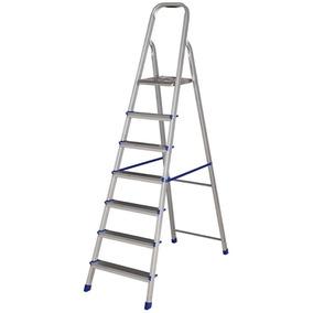Escada Mor Aluminio 7 Degraus - 005105
