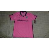 Camiseta Boca Juniors Alternativa 2014 Nueva Stadium