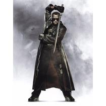 Sobretudo Blade - Morpheus Matrix Assasins (couro Sintético)