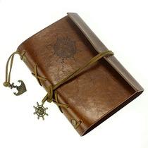 Cuaderno, Cubierta De Cuero Elegante Del Estilo De La K21