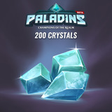 Codigo Paladins Crystals Global 200 Crystals Key