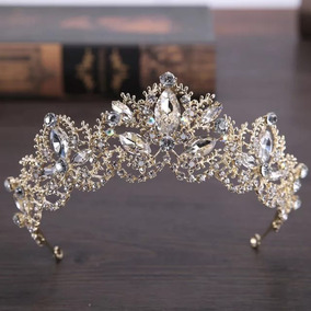 Coroa De Alta Qualidade Para Miss, Noiva, Debutante, 15 Anos