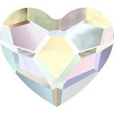 10pz Swarovski Corazón 2808 Original Figura Cristal Uñas