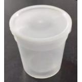 Tinas Plásticas Nro. 8 Con Tapa (tipo Vaso)