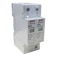 Protector Descargas Atmosfericas 1p+n 20ka Sobretension Baw