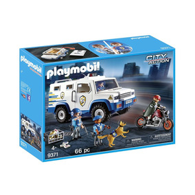 Playmobil Camion Blindado De Policia 9371