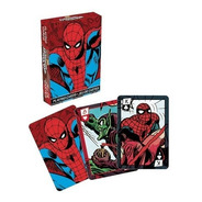 2 Set Naipe O Cartas Ingles Spider Man Retro - Marvel Comics